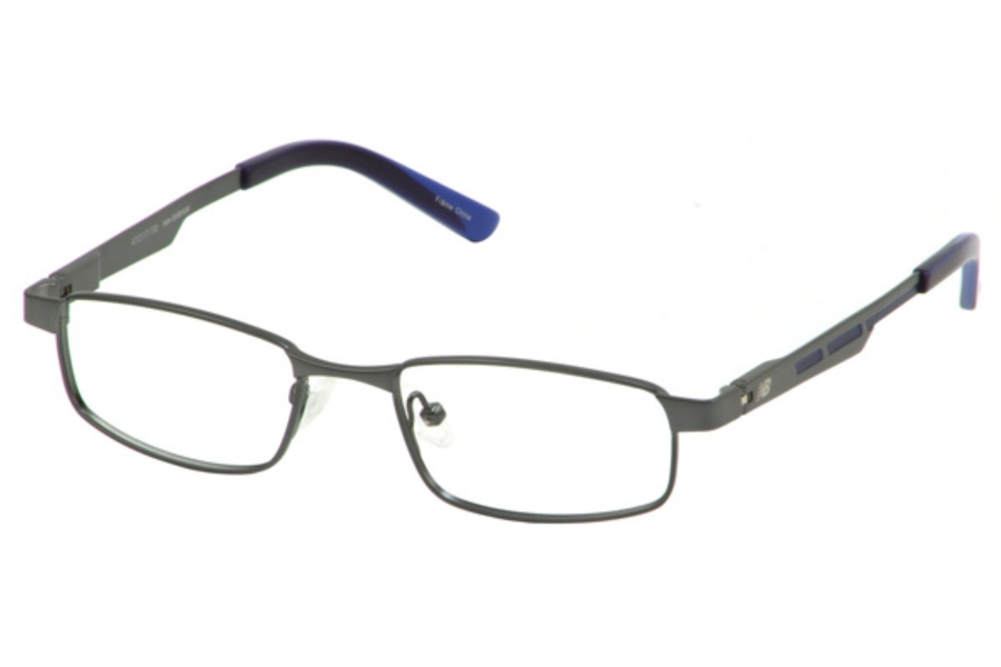New Balance Kids NBK 134 Eyeglasses in Dark-Gunmetal