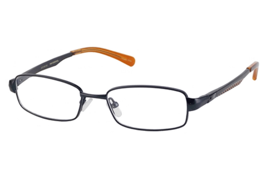 New Balance Kids NBK 58 Eyeglasses in Navy