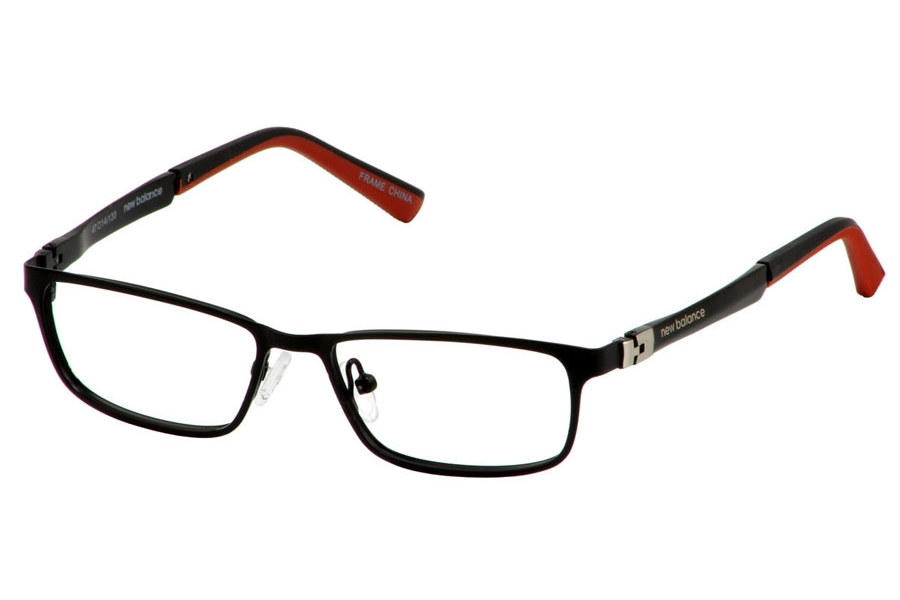 New Balance Kids NBK 136 Eyeglasses in Black