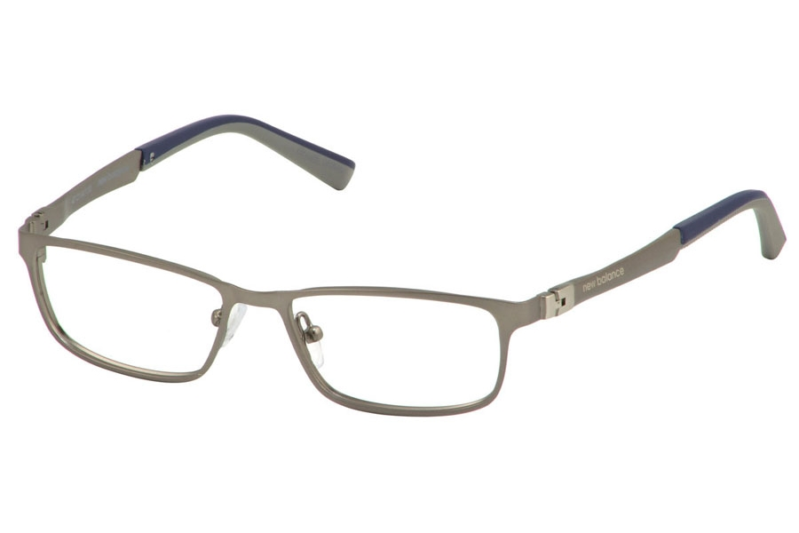 New Balance Kids NBK 136 Eyeglasses in Gunmetal