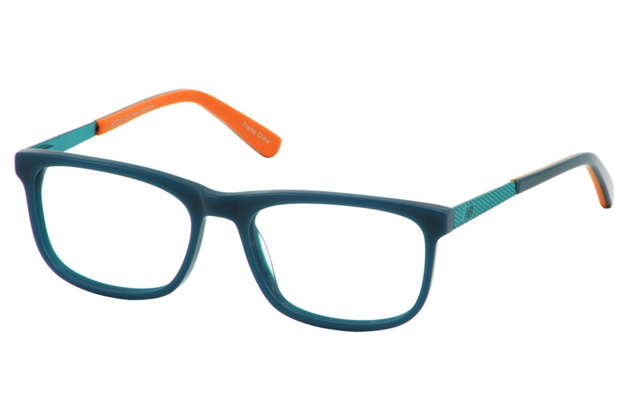 New Balance Kids NBK 137 Eyeglasses in Aqua