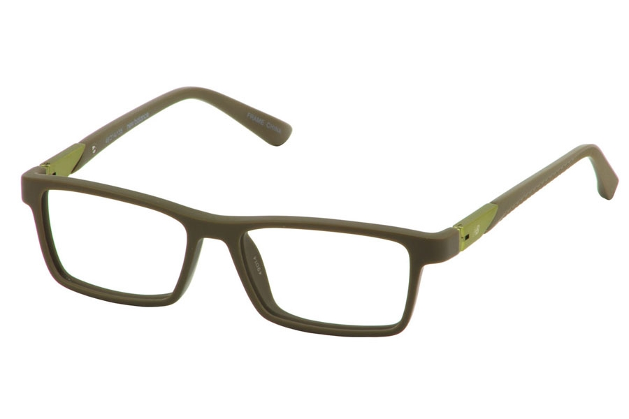 New Balance Kids NBK 140 Eyeglasses in Olive