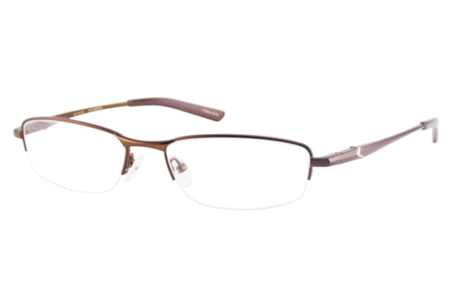 New Balance NB 437 Eyeglasses in BROWN (Discontinued)