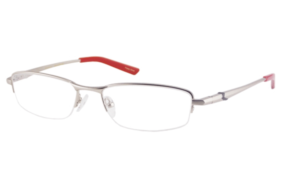 New Balance NB 437 Eyeglasses in SILVER