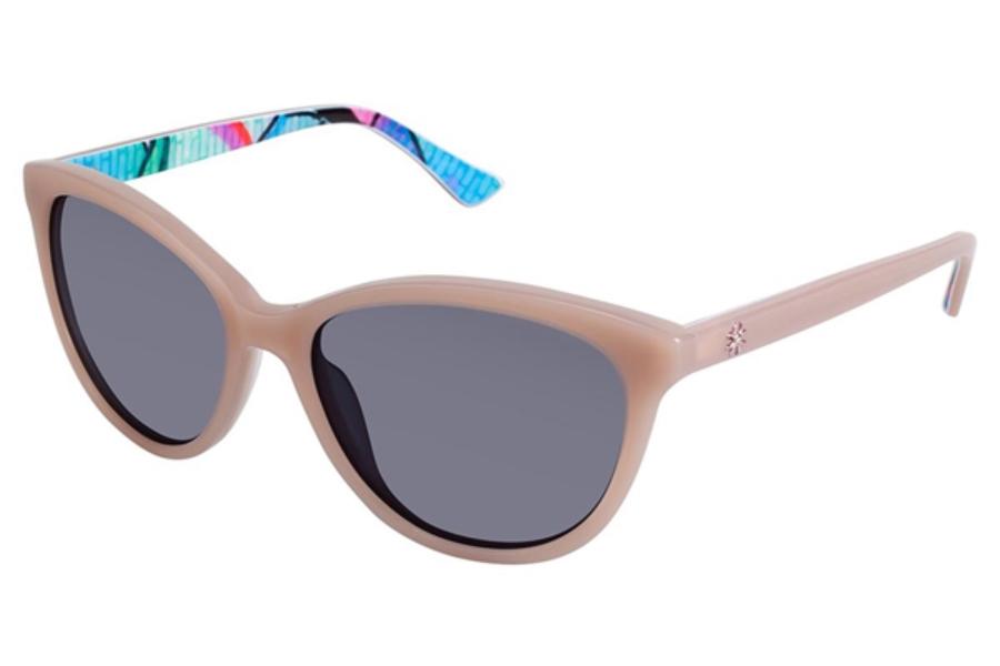 419c620860247 Nicole Miller Wooster Sunglasses in C03 Blush Grafitti ...