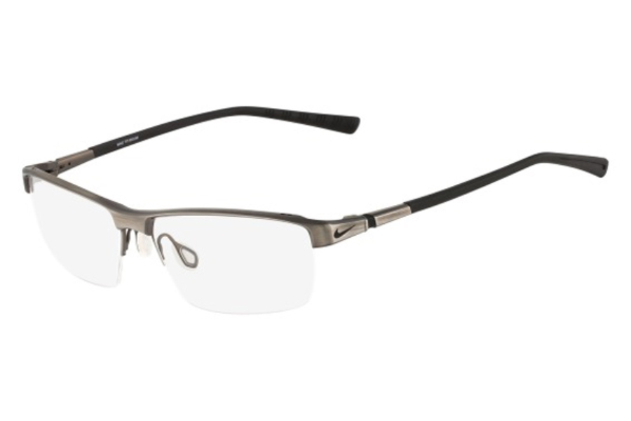 Nike NIKE 6052 Eyeglasses in 067 Gunmetal/Black