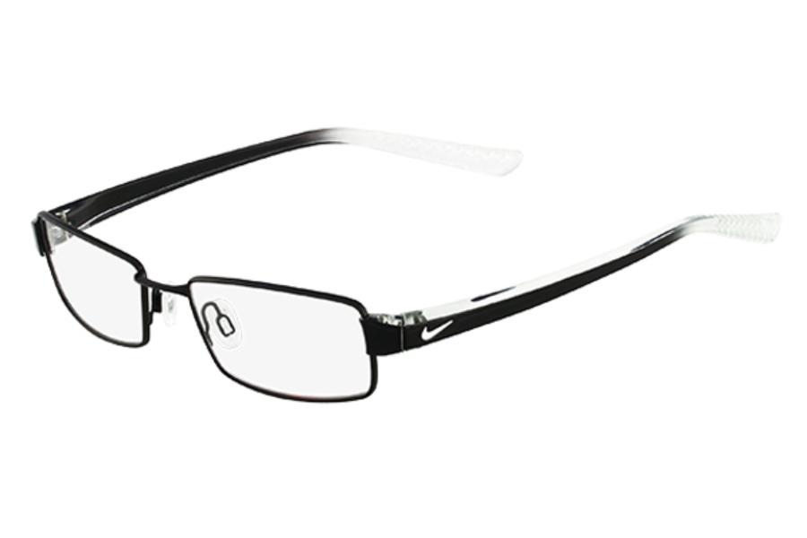 4164d1ff1b9 ... Nike NIKE 8065 Eyeglasses in 002 Black   Crystal ...