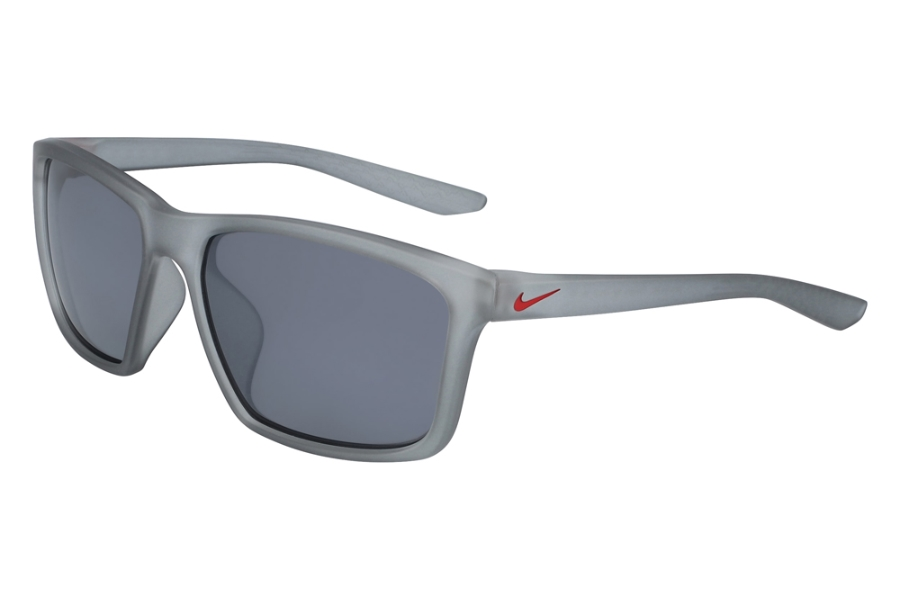 Nike NIKE VALIANT CW4645 Sunglasses in 012 Mt Wolf Gray/Uni Red/Silver Fl