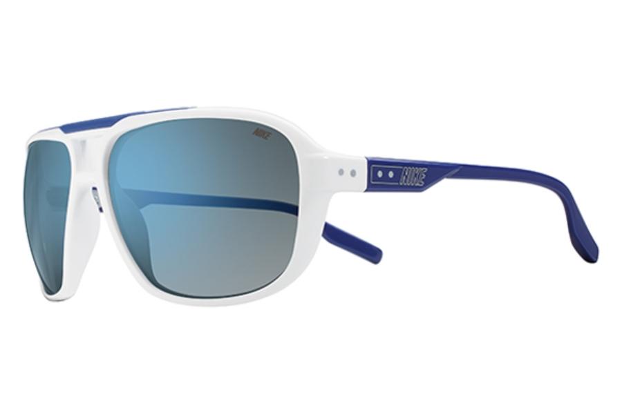 b4907305c9b4 205 EV0718 Sunglasses in 144 Wht/Deep Ryl/Gry W Fl; Nike MDL. 205 EV0718  Sunglasses in 933 Clear/Cactus/Grey Silver ...
