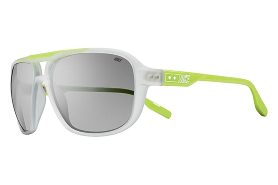 815c0caeb2eb 205 EV0718 Sunglasses in 933 Clear/Cactus/Grey Silver Fl; Nike ...
