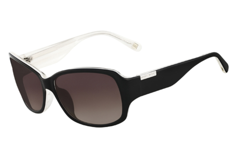 Nine West NW519S Sunglasses in 013 Black White