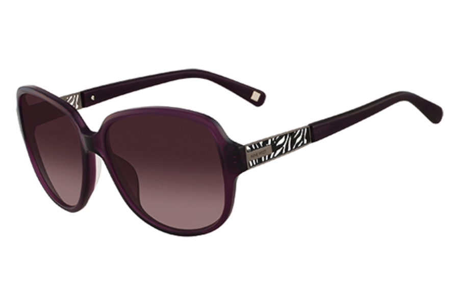 Nine West NW526S Sunglasses in 511 Eggplant