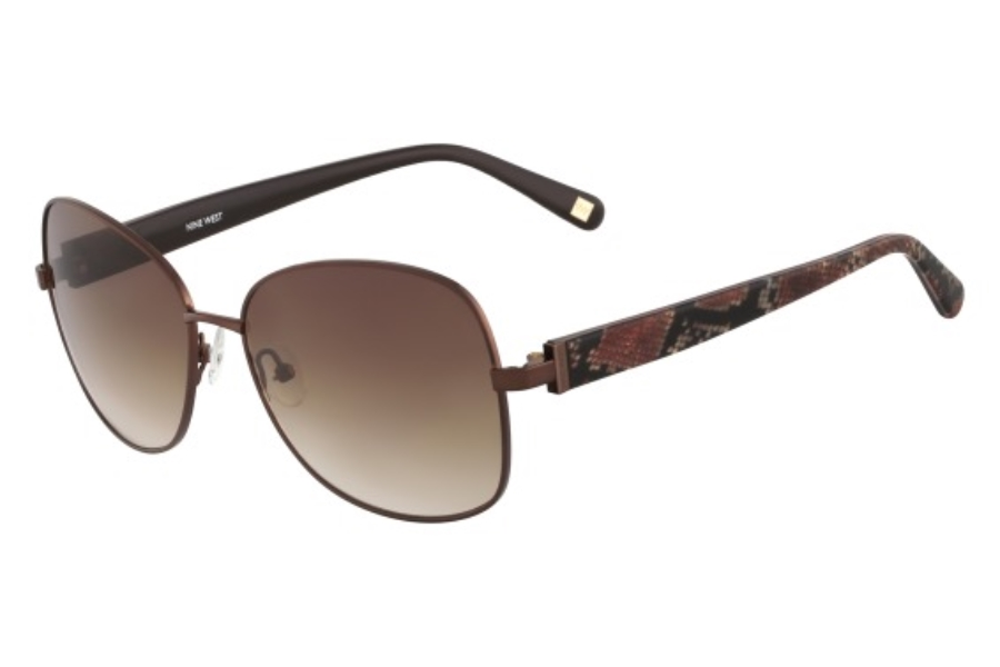 Nine West NW116S Sunglasses in 211 Bronze