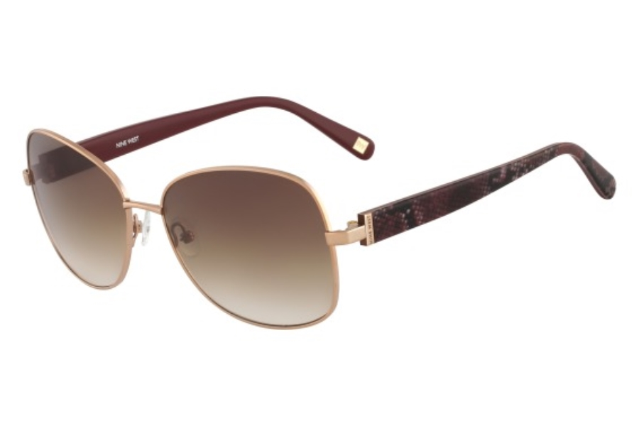 Nine West NW116S Sunglasses in 780 Rose Gold