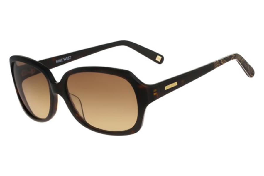 Nine West NW568S Sunglasses in 206 Tortoise