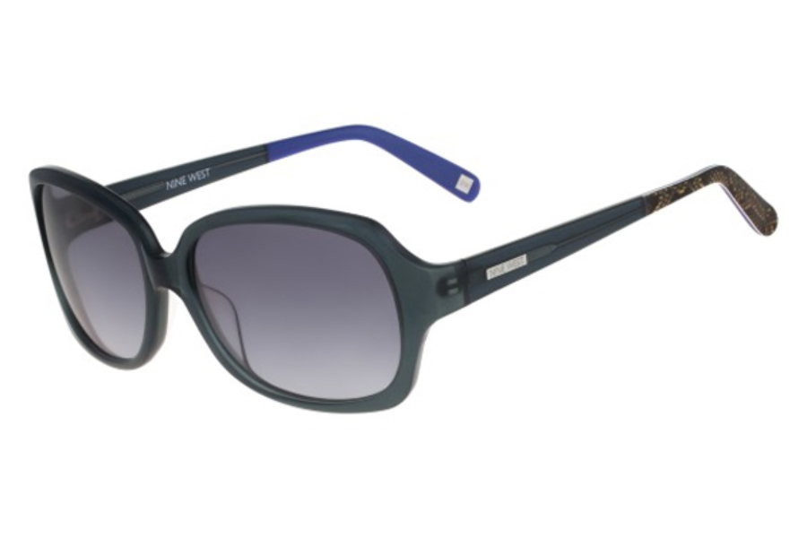 Nine West NW568S Sunglasses in 434 Navy