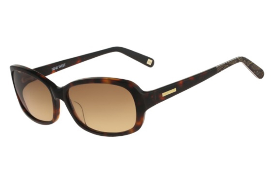 Nine West NW569S Sunglasses in 218 Soft Tortoise