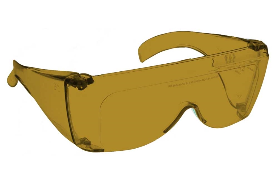 NoIR #L Large Fitover - Continued Sunglasses in 11 - Amber