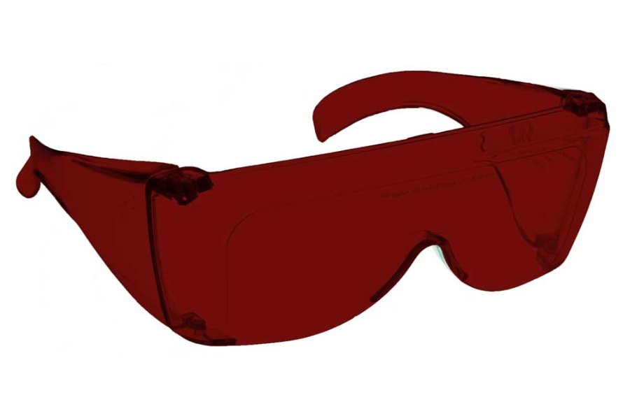 NoIR #L Large Fitover - Continued Sunglasses in 99 - Red