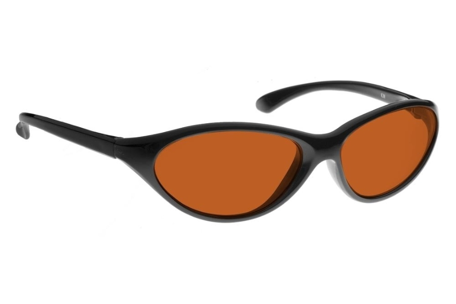 NoIR #KM Sunglasses in 533 - Amber-Orange