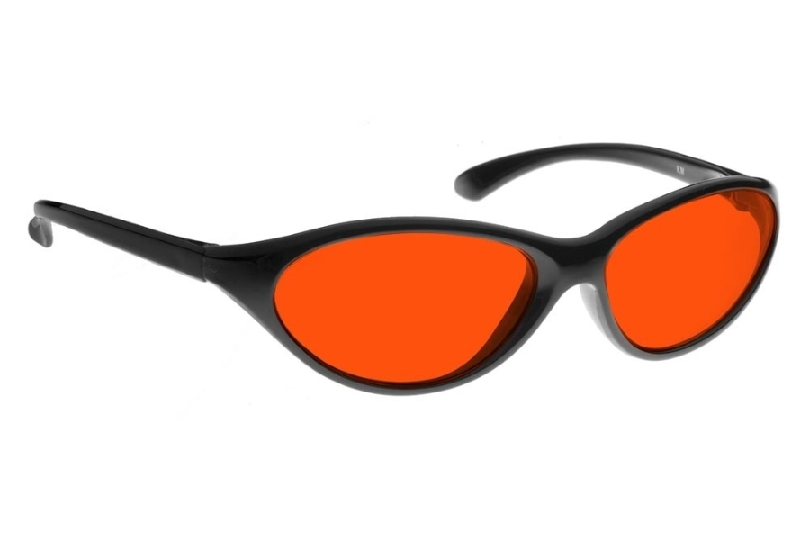 NoIR #KM Sunglasses in 553 - Red-Orange