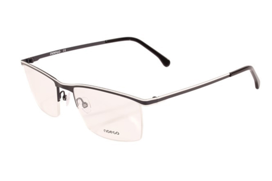 Noego Number 5 Eyeglasses in C92 Bleu/Blanc