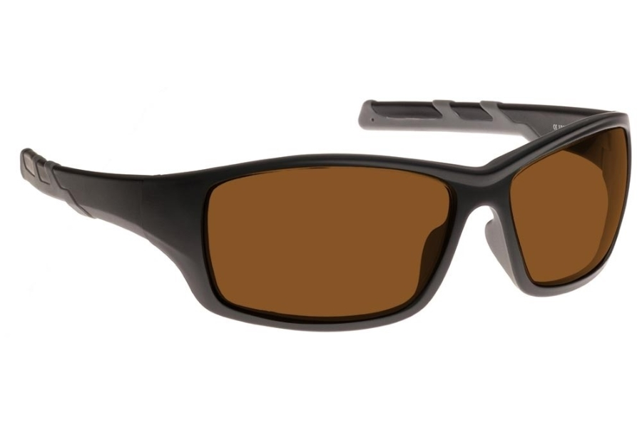 NoIR #52 Modern Wrap-Around - Continued Sunglasses in 01 - Amber
