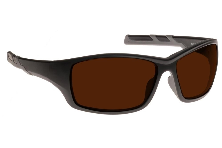 NoIR #52 Modern Wrap-Around - Continued Sunglasses in 07 - Amber