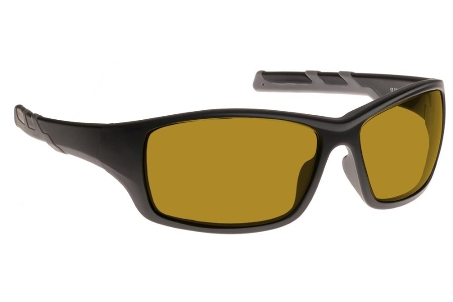 NoIR #52 Modern Wrap-Around - Continued Sunglasses in 11 - Amber