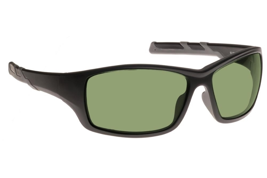 NoIR #52 Modern Wrap-Around - Continued Sunglasses in 12 - Grey-Green