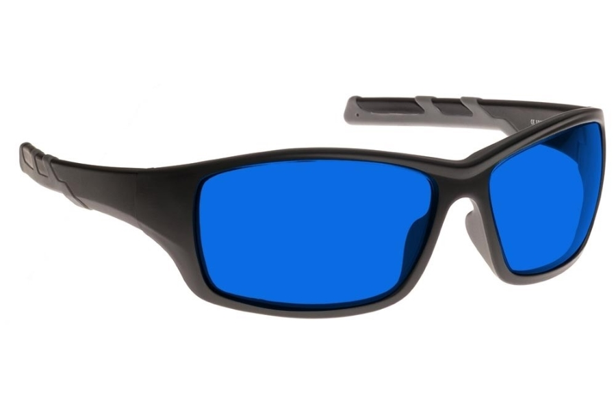 NoIR #52 Modern Wrap-Around - Continued Sunglasses in 26 - Blue