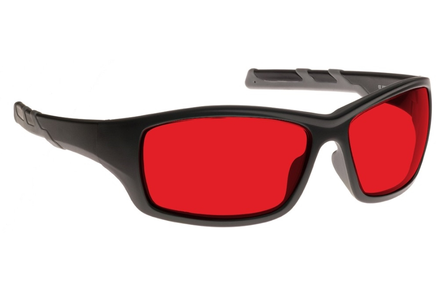 NoIR #52 Modern Wrap-Around - Continued Sunglasses in 90 - Red