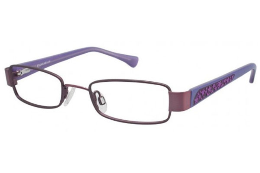 O!O 830021 Eyeglasses in LAVENDER W/PUR TEMPLE (50)