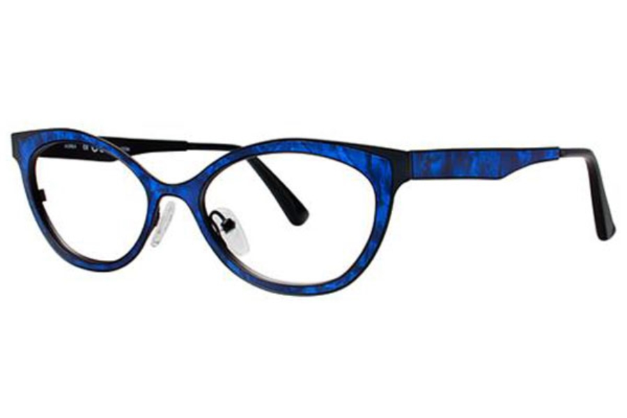 OGI Eyewear 4304 Eyeglasses in 1589 Sapphire Granite/Black