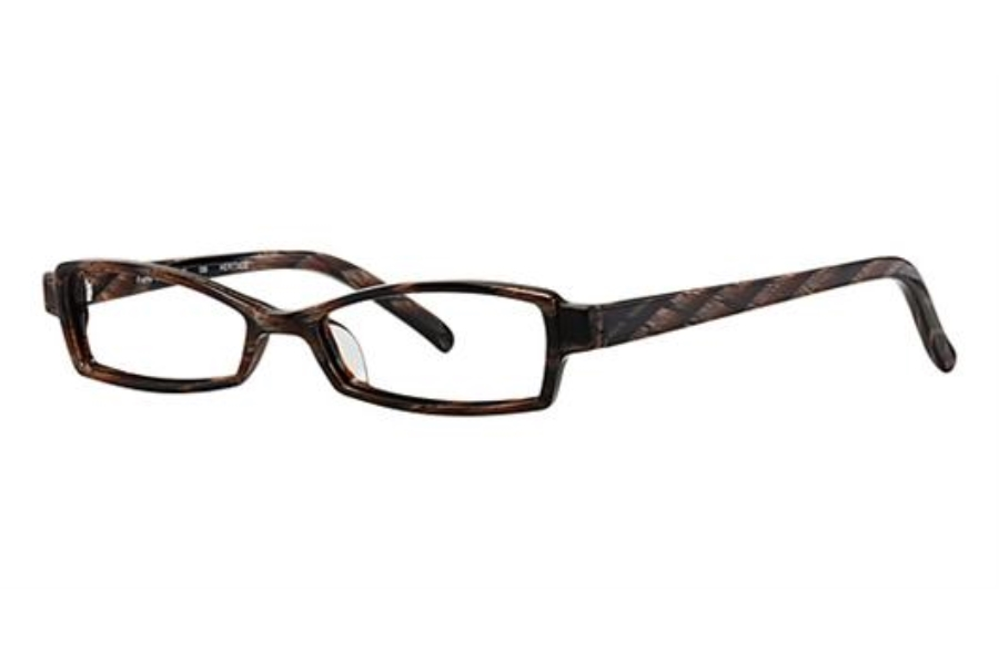 OGI Eyewear 7107 Eyeglasses in 428 - Brown Tiger