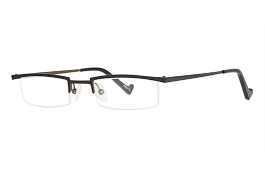 OGI Eyewear 2218 Eyeglasses in 951 - Black/Olive