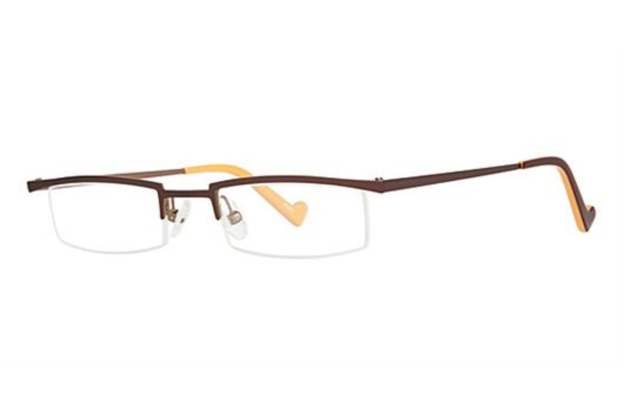 OGI Eyewear 2218 Eyeglasses in 952 - Brown/Tan