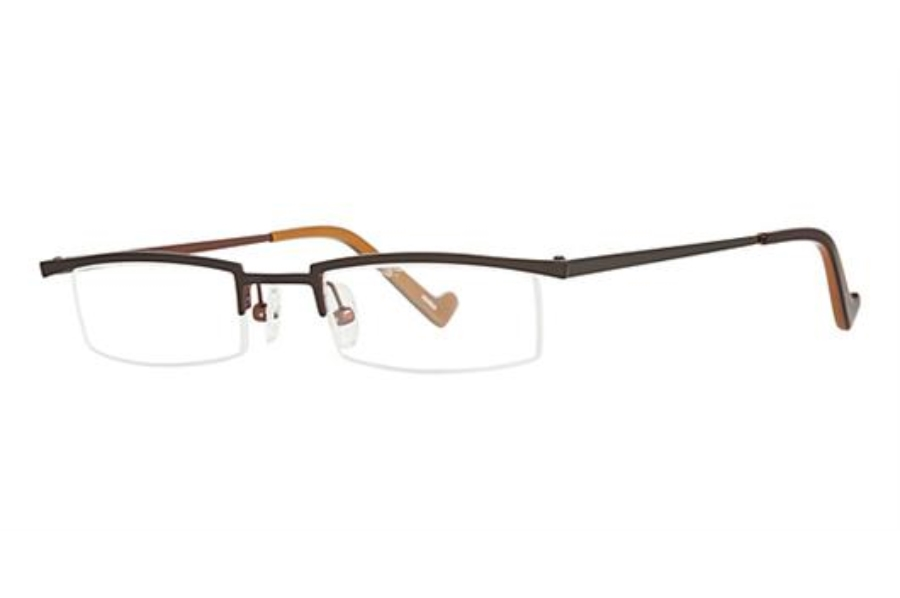 OGI Eyewear 2218 Eyeglasses in 953 - Dark Olive/Brown