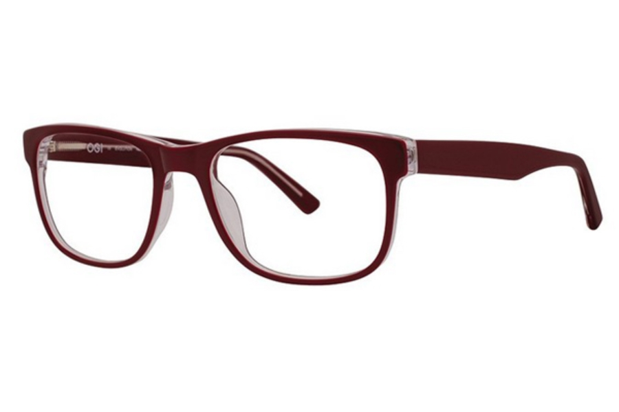 OGI Eyewear 3133 Eyeglasses in 2151 Burgundy/Crystal