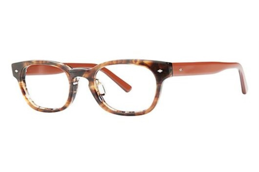 OGI Eyewear 6002 Eyeglasses in 1331 Amber Demi/Brown