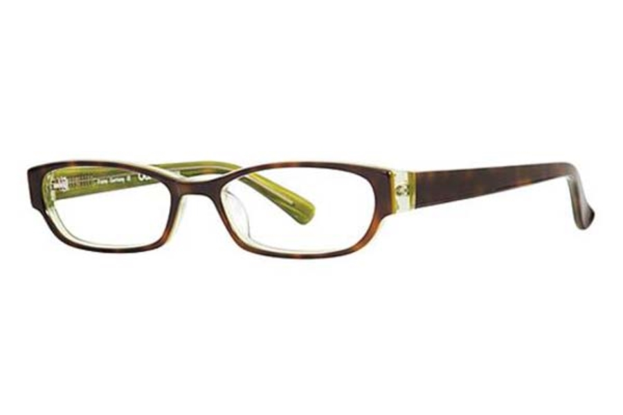 OGI Eyewear 7136 Eyeglasses in 414 TORT/GREEN