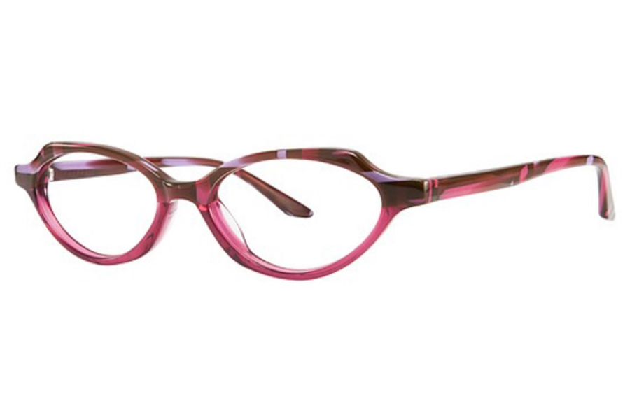 OGI Eyewear 7157 Eyeglasses in 1900 Purple Brown Weave/Purple