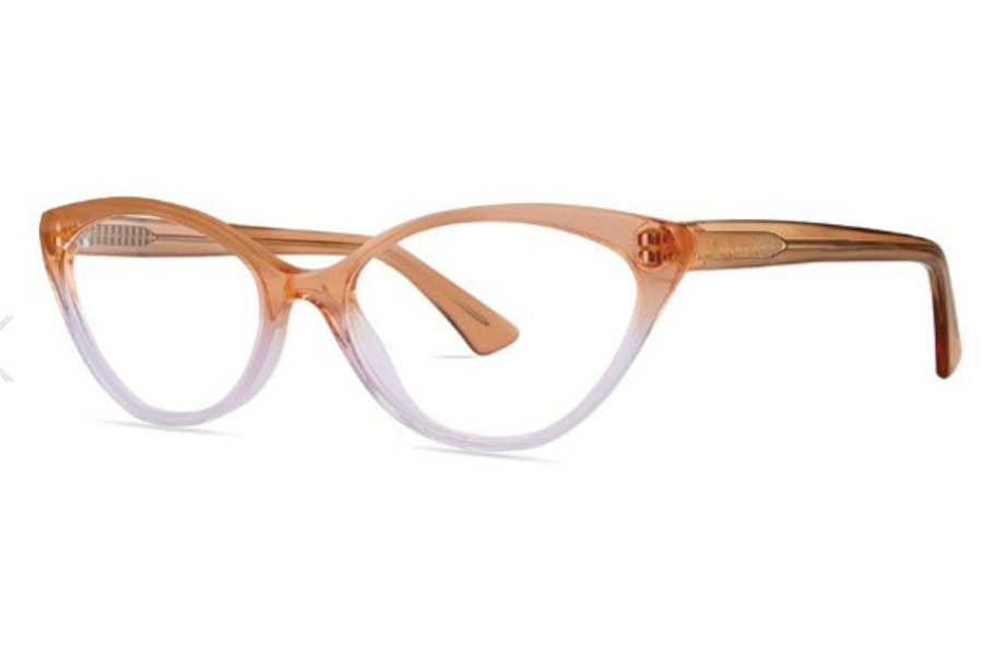 OGI Eyewear 7165 Eyeglasses in 2027 MIMOSA/CRANBERRY