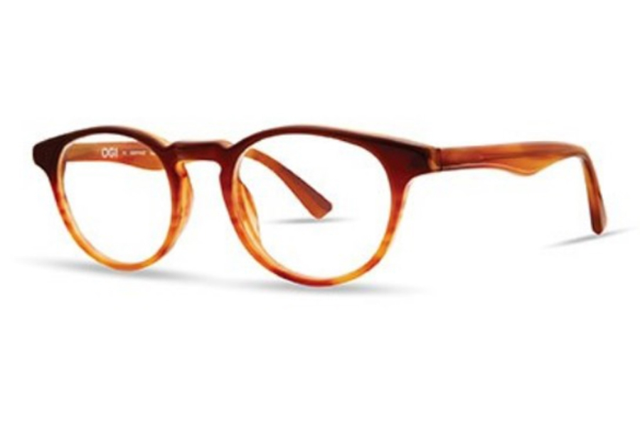 OGI Eyewear 7168 Eyeglasses in 2119 Maple Fade
