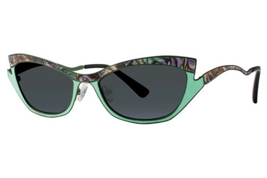 OGI Eyewear 8069 Sunglasses in 1783 ABALONE PEARL/SEA GREEN