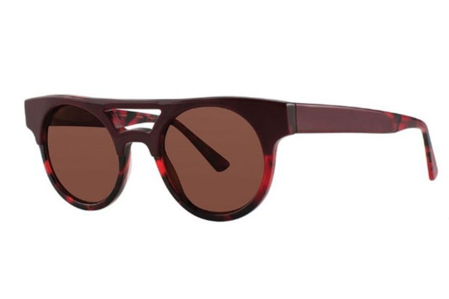 OGI Eyewear 8075 Sunglasses in 2060 BURGUNDY TORTOISE