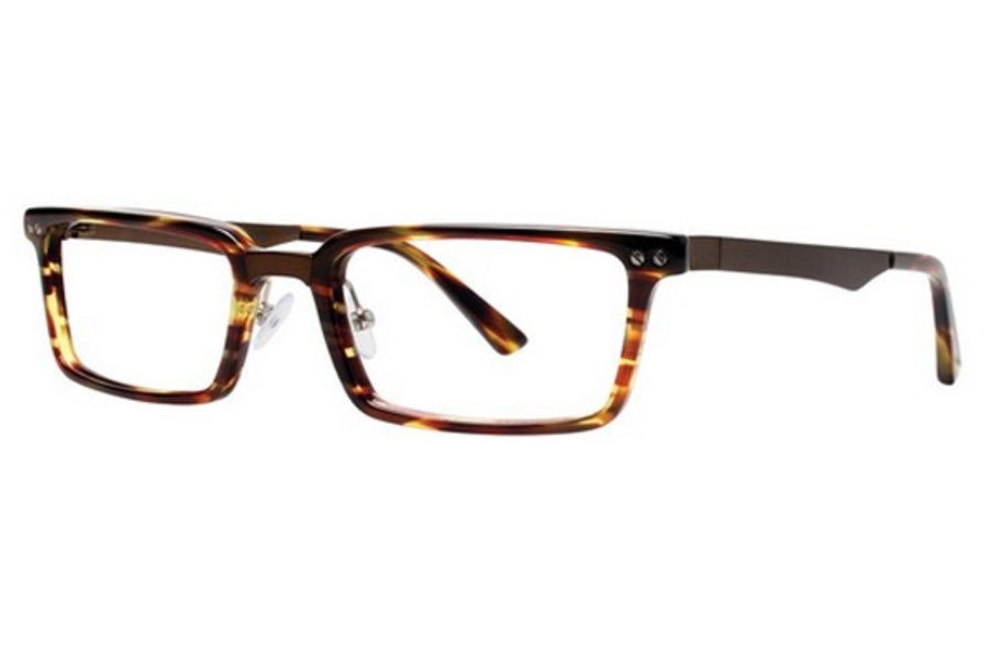 OGI Eyewear 9102 Eyeglasses in 1637 AURBUN LATTICE/BROWN
