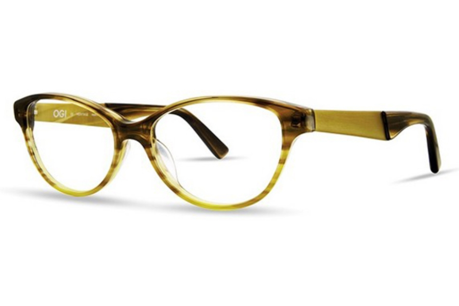 OGI Eyewear 9116 Eyeglasses in 2131 Honey Hive Fade