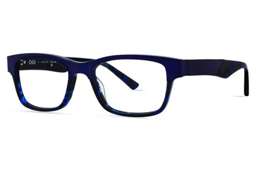 OGI Eyewear 9118 Eyeglasses in 2140 Navy Blue Tortoise / Navy Blue