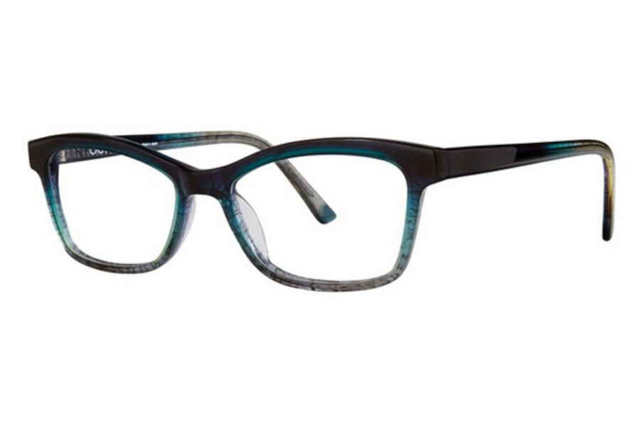 OGI Eyewear 9124 Eyeglasses in 2271 Teal Grey Fade